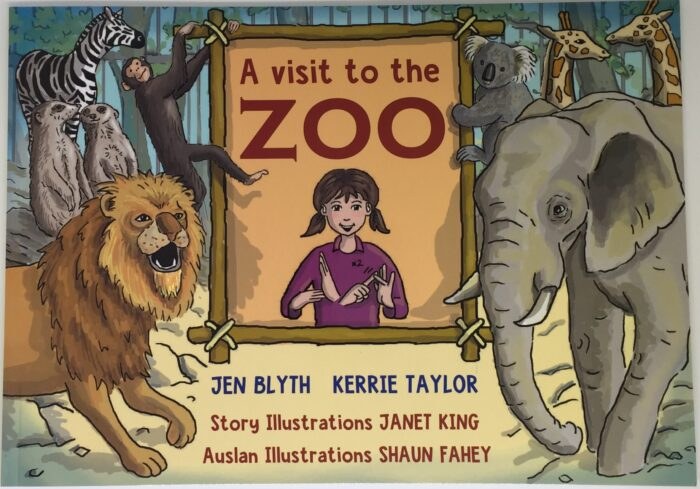 Cover of A Visit to the Zoo