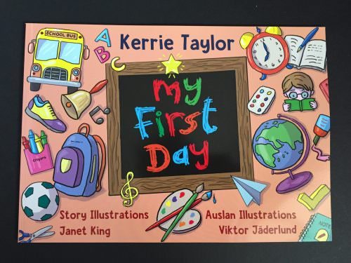 Cover of My First Day book